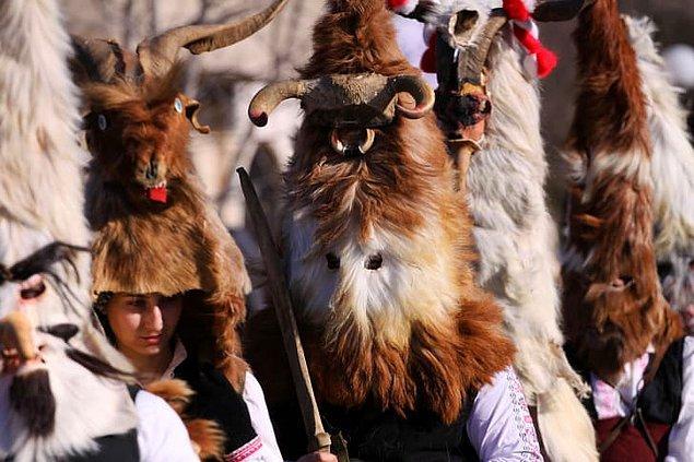 13. Kukeri - Bulgaristan