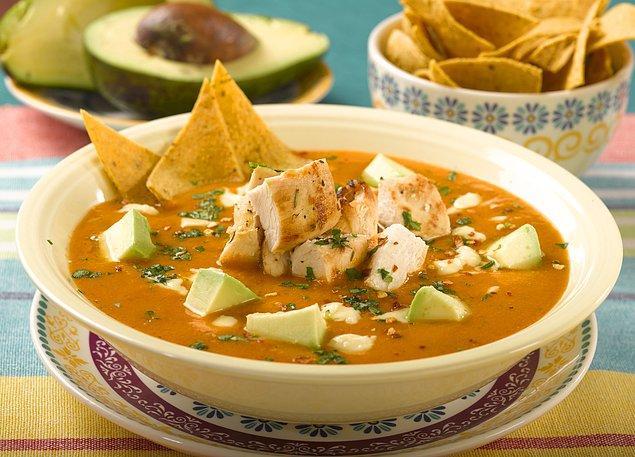 10. Sopa De Tortilla Çorbası Tarifi