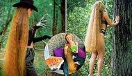 Русская Рапунцель тратит 16 часов в неделю, чтобы ухаживать за волосами длиной 130 сантиметров