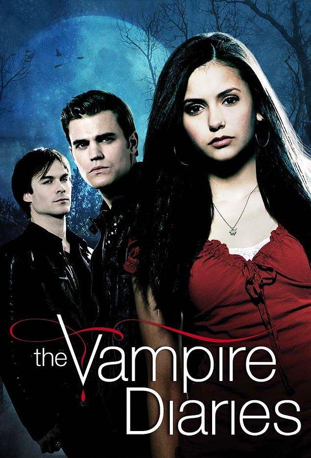 10. The Vampire Diaries (Vampir Günlükleri) - IMDb: 7.7