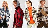 Bu Sene de Moda! Kadın Erkek Bayıla Bayıla Giydiğimiz Oduncu Gömlekleri