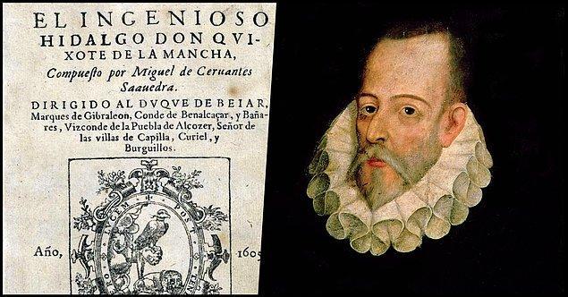 1. Miguel de Cervantes - Don Kişot (1605)