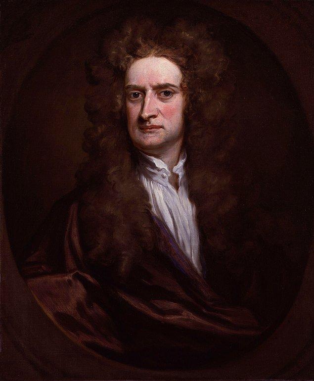 8. Isaac Newton, Parlamento üyesi olduğu ve Parlamento'da bulunduğu süre boyunca yalnızca bir kez konuştu. O da, hava soğuk olduğu için bir kapıcıdan bir pencereyi kapatmasını istemesiydi.