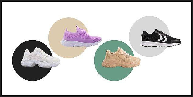 Yürüyüşlerinizi hangi spor ayakkabıyla yapmak isterdiniz?