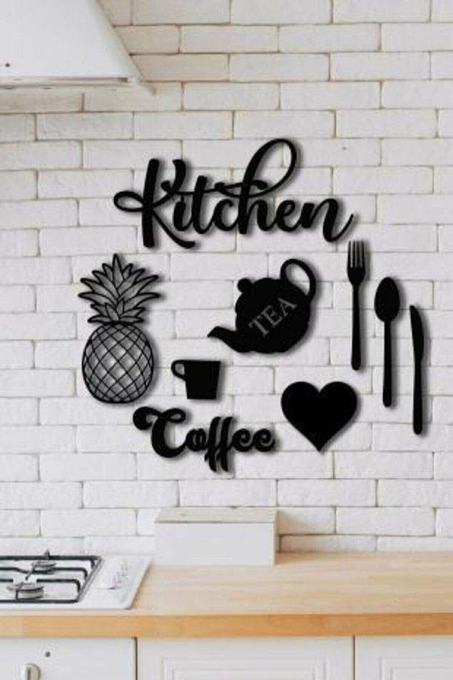 8. Mutfak dekorasyonunu önemseyen ince fikirli mutfak dostları için seçtik bu kez...