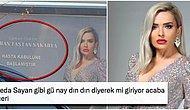 Pullu Payetli Elbisesiyle Billboard Reklamı Veren FTR Uzmanı Dr. Şükran Taştan Sakarya Herkesi İkiye Böldü