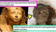 Mısır Kraliçesi Hatshepsut'un 3500 Yıllık Mumyasına Ait Fotoğraf Goygoycuların Eline Fena Halde Düştü!