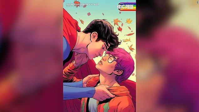 Clark Kent gibi heteroseksüel bir Superman'ın ardından yeni Superman'da bu fırsatı geri tepmemeye karar veren Tom Taylor, böylece Jon Kent karakterini biseksüel bir karakter olarak yarattı.