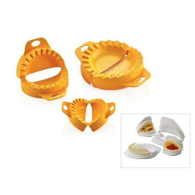 16. Mantı, pişi, elmalı kurabiye ve hamura dair daha ne isterseniz şekillendirebileceğiniz bir aparat...
