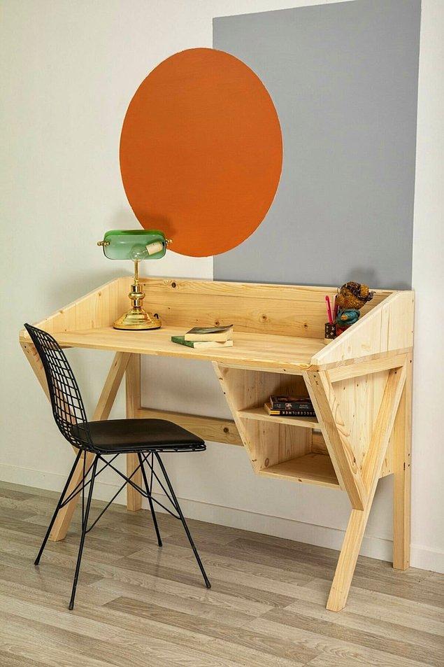 8. Bu çalışma masasını görünce bayılacaksınız.