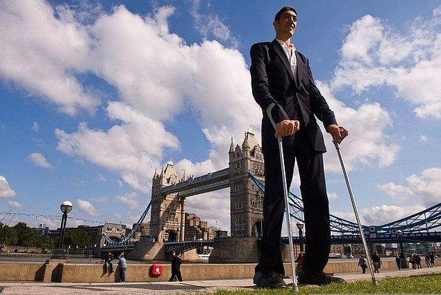 En uzun erkek de Türk