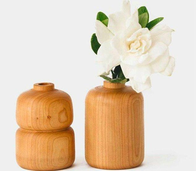 12. Vazo seven herkesin çok hoşuna gidecek minimal vazolarda da indirim var.