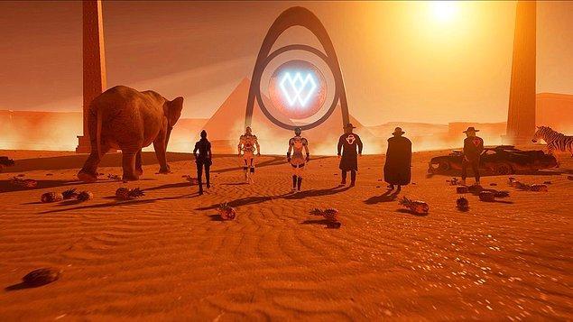6. Divine, dijital sanatçılar Wilder World ile ekosistemde NFT oluşturabilir!