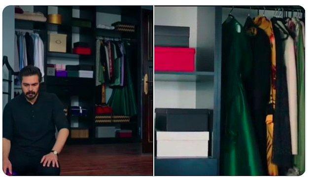 5. Yeşil elbiseye dikkat!