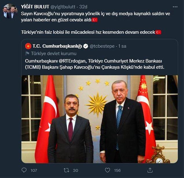 """""""Türkiye'nin faiz lobisi ile mücadelesi hız kesmeden devam edecek"""""""