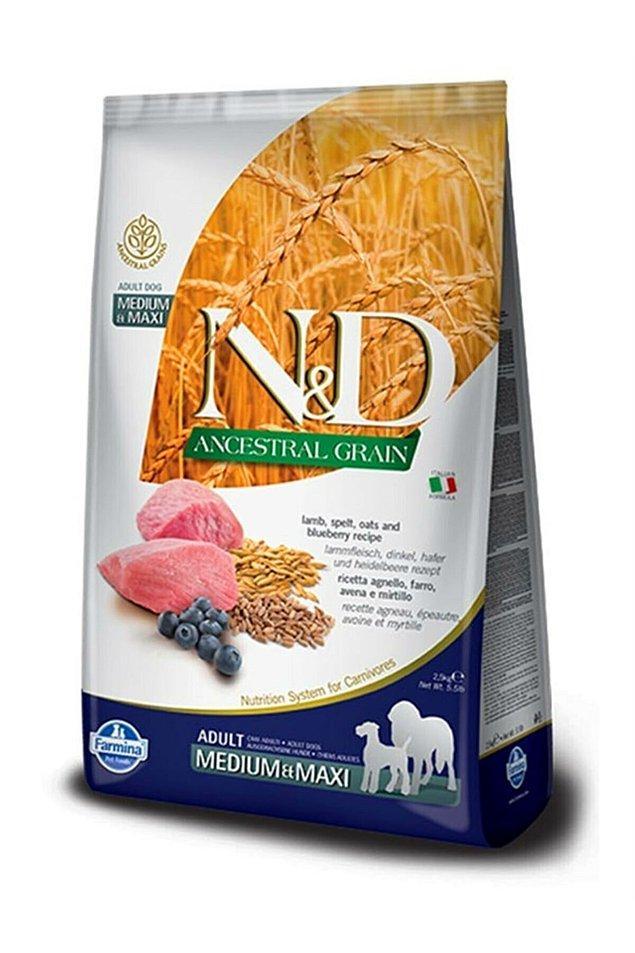 12. N&D markasının düşük tahıllı ürünleri köpekler için de üretiliyor.