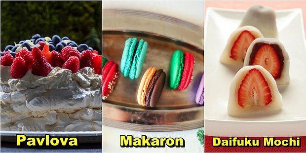 Meyve, Çikolata, Krema: Yabancı Mutfaklara Ait Adeta Görsel Bir Şölen Sunan Tatlılar