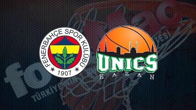 Fenerbahçe Beko – Unics Kazan Takım İstatistikleri