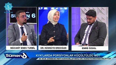 Ak Partili Hüsnüye Erdoğan: 'Peygamber Efendimiz de Mideyi Boş Bırakırdı'