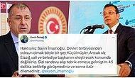 Elazığ'da Kendisini Kabul Etmeyen Makamlara Tepki Gösteren Ekrem İmamoğlu'na Ümit Özdağ'dan Eleştiri Geldi!