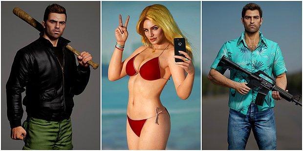 CJ, Tommy ve Diğerleri Gerçek Oldu! GTA Karakterlerine Adeta Can Veren Birbirinden Gerçekçi Çalışmalar