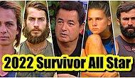 Acun Ilıcalı'nın Henüz Açıklamadığı ve Merakla Beklenen 2022 Survivor All Star Yarışmacıları İfşa Oldu!