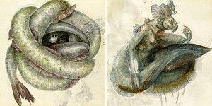 15 работ иллюстратора, представившая русалок, не так, как мы привыкли их видеть в сказках