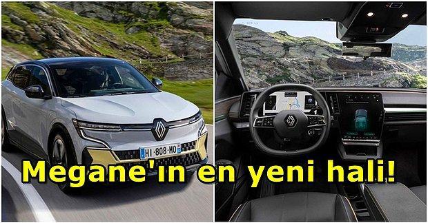 Gelecekten Gelmiş Gibi! Renault, Yeni Elektrikli Aracı Megane eVision'ı Tanıttı