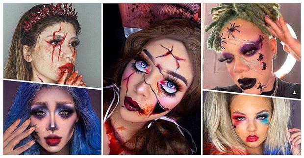 Karşınızda Tüm Zamanların En Dikkat Çekici Makyaj Stili: Halloween