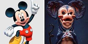 15 ужасающих версий икон поп-культуры от цифрового художника, которые, вероятно, вызовут у вас ночные кошмары