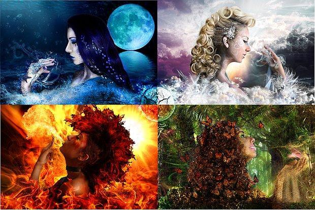 Ruhun 4 Elementten Hangisinin Enerjisini Taşıyor?