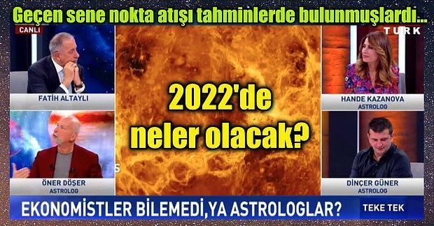 Dolar, Kıtlık, Savaş... Pandemiyi Bilen Astrologların 2022 Yılı İçin Olan Kehanetlerine Epey Şaşıracaksınız!