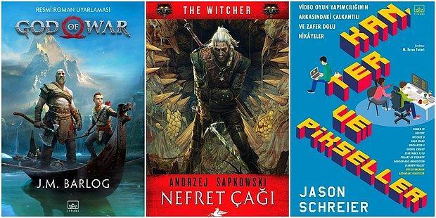 Edebiyat ve Oyun Dünyasının Buluştuğu, Her Oyuncunun Hoşuna Gidecek Birbirinden Başarılı 13 Kitap