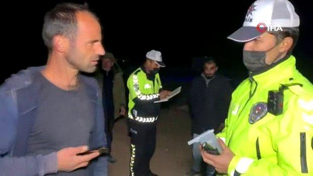 Sulama Kanalına Düşen Alkollü Sürücü Sitem Etti: 'Ölmediğime Pişmanım...'