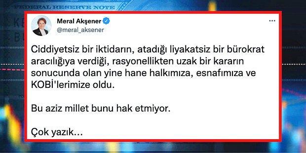 Türkiye Merkez Bankası'nın Faiz İndirimi Kararına Siyasetçilerden Yükselen Sert Tepkiler