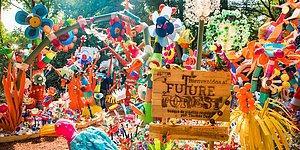 Лес будущего: в Мехико художник создал лес из 3 тонн отходного пластика
