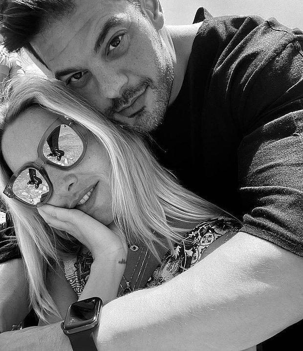 Mehmet Dinçerler'den Sevgilisi Hadise'ye Romantik Paylaşım