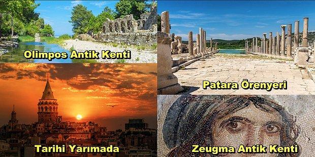 Gezip Tozarken Kültür ve Tarihe Doymak İsteyenlerin Hayran Kalacağı Türkiye'nin Tarih Kokan Köşeleri