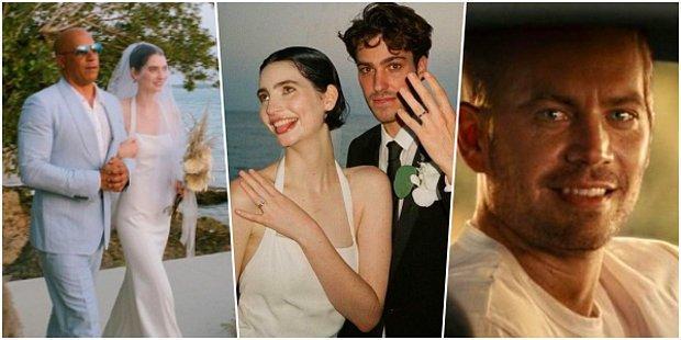 Paul Walker'ın Kızı Meadow Rain Walker Evlendi, Damada Vaftiz Babası Vin Diesel Teslim Etti! ❤️