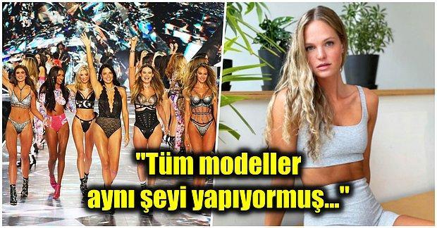 Kandırıldık! Victoria's Secret Modellerinin Nasıl Bu Kadar Zayıf Kaldığını Öğrenince Ağzınız Açık Kalacak