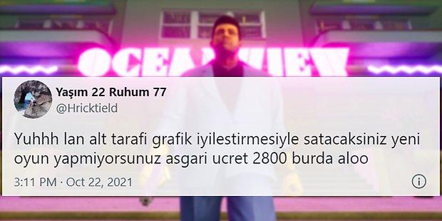 Yenilenmiş GTA Üçlemesinin 529 TL'lik Türkiye Fiyatı Karşısında İsyan Eden Oyuncuların Haklı Tepkileri