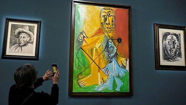 Picasso'nun 11 Eseri 110 Milyon Dolara Satıldı