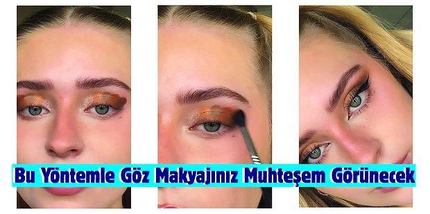 Makyaja Yeni Başlayanlar Buraya: Bu Yöntemle Profesyonel Görünen Göz Makyajları Yapabilirsiniz