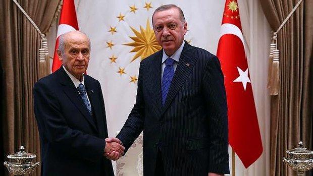 Kabine Toplantısı Öncesi Sürpriz Görüşme: Cumhurbaşkanı Erdoğan, Bahçeli'yi Kabul Edecek