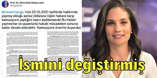 Nevşin Mengü'nün Tezsiz ve Diplomasız Olduğunu Söylediği Akademisyen Zehra Zulal Atalay Açıklama Yaptı!