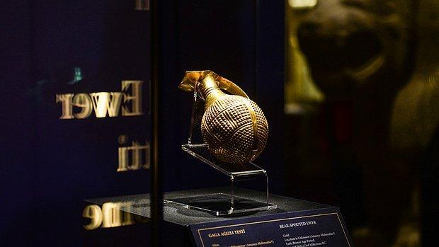 İngiltere, 4 Bin 250 Yıllık Altın Gaga Ağızlı Testiyi Türkiye'ye İade Etti