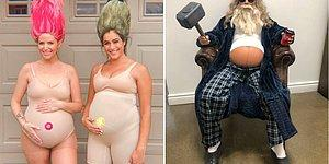 17 беременных женщин, которые гениально выкрутились из положения с нарядом для Хэллоуина