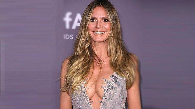 Dünyaca Ünlü Model Heidi Klum'dan Cadılar Bayramı Kostümü! Görenleri Korkuttu...