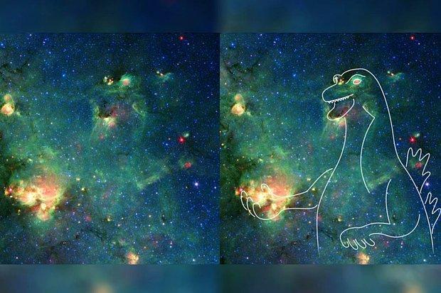 NASA 'Uzaydaki Godzilla'yı' Görüntüledi